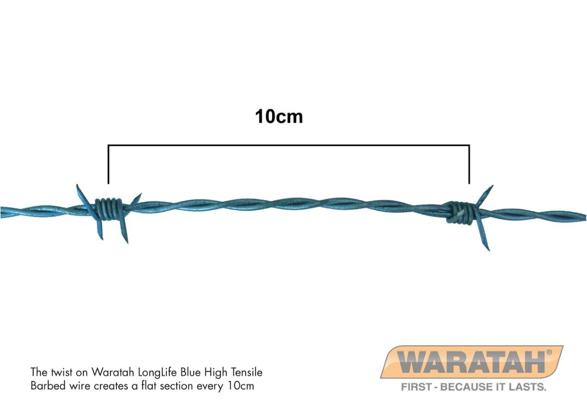 Longlife High Tensile Barbed Wire | Waratah Barbed wire