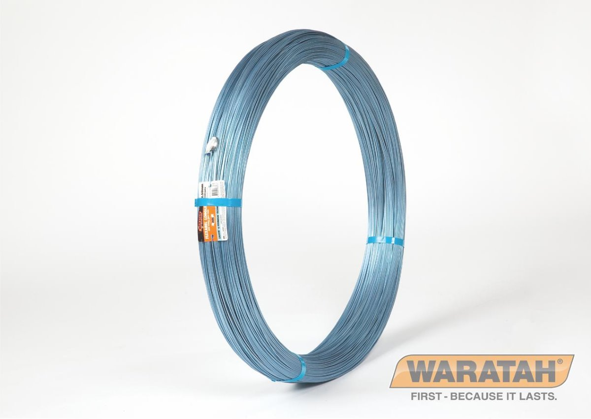Flexible Longlife Blue Wire | Electric Fence Wire | Waratah Wire