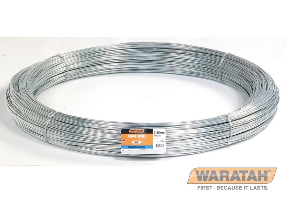 Galvanized Low tensile wire | Waratah Fence Wire