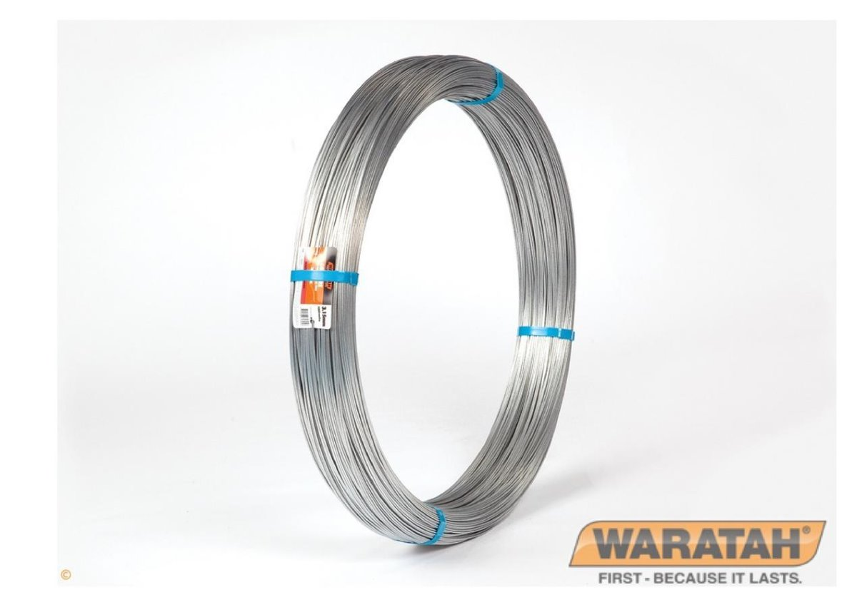 Growire Galvanized Tomato Wire | Waratah Fence Wire