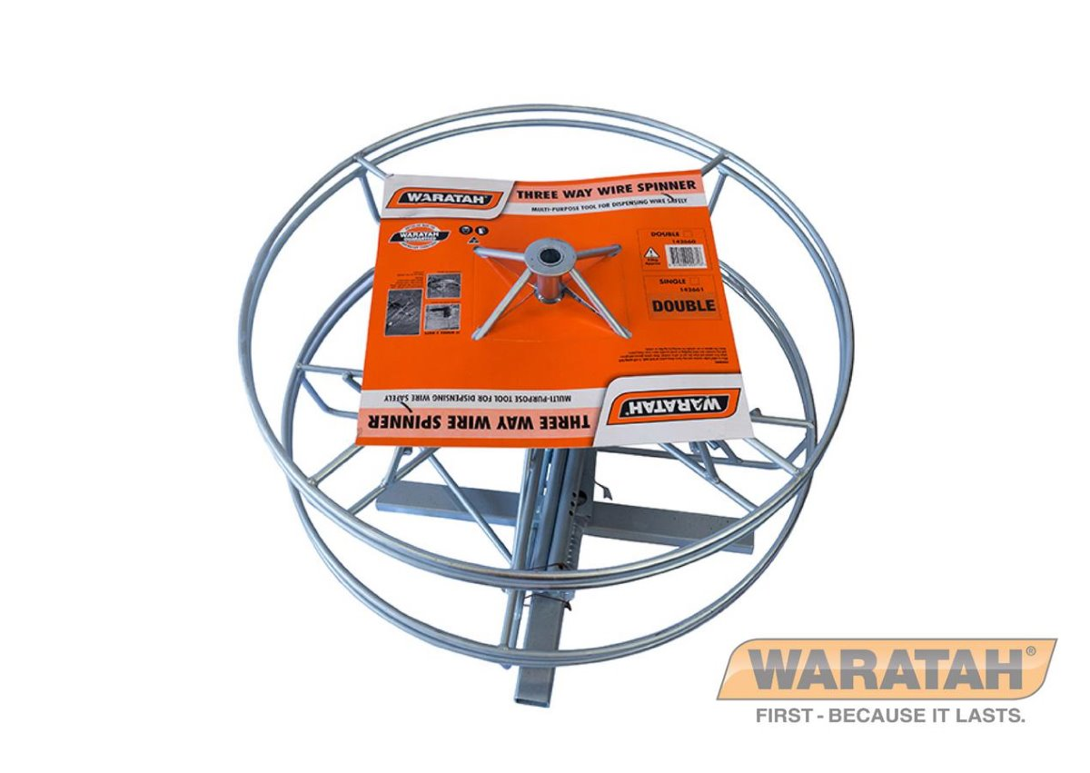 Three way wire spinner | Waratah fencing tools