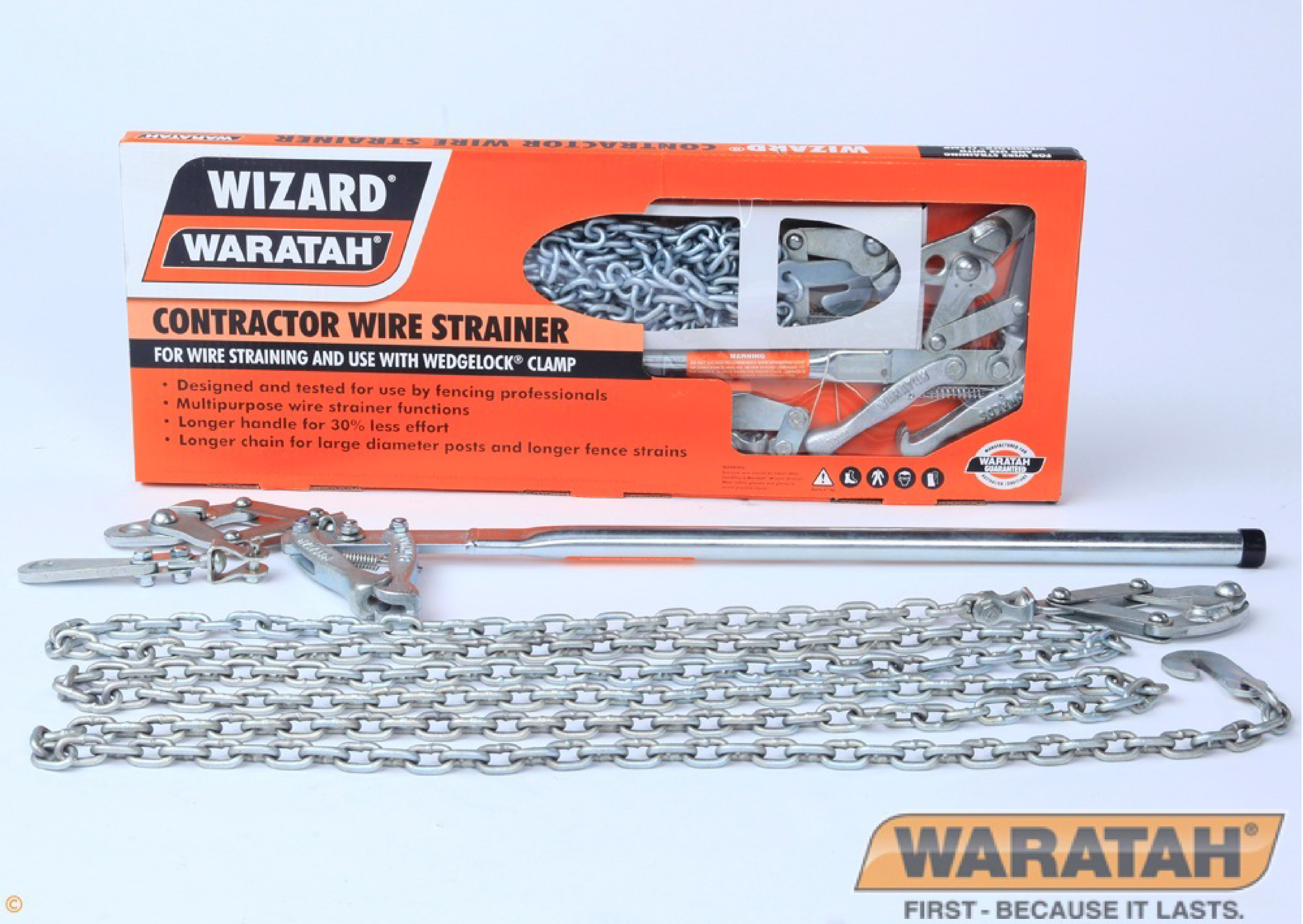 Wizard contractor wire strainer | Waratah fencing tools