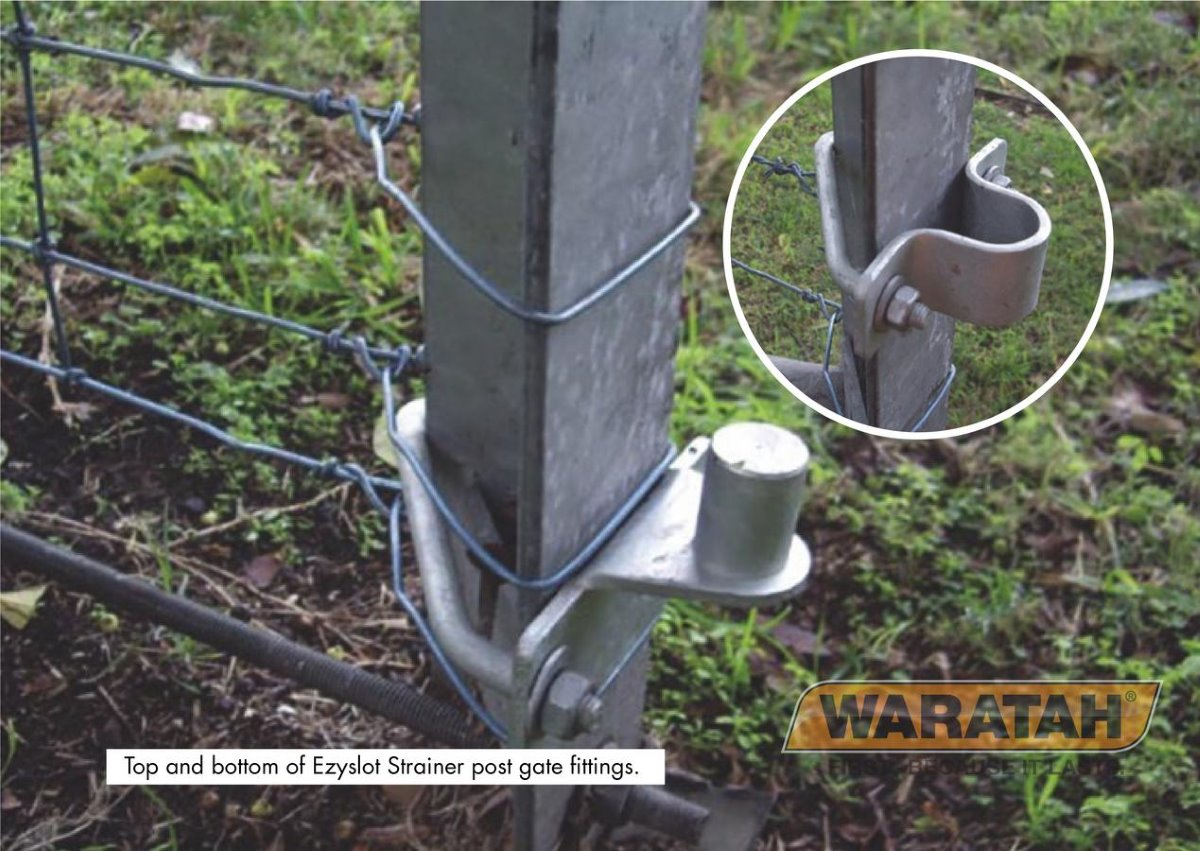 Ezyslot Strainer Post | Waratah Strainer and Assembly